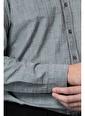 Lufian Erkek  Gömlek 8186 Gri